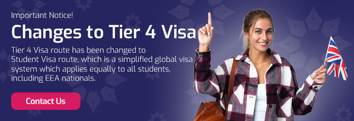 Changes to Tier 4 Visa